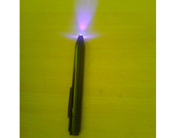 Fluorescent Led Torch - 1 Led